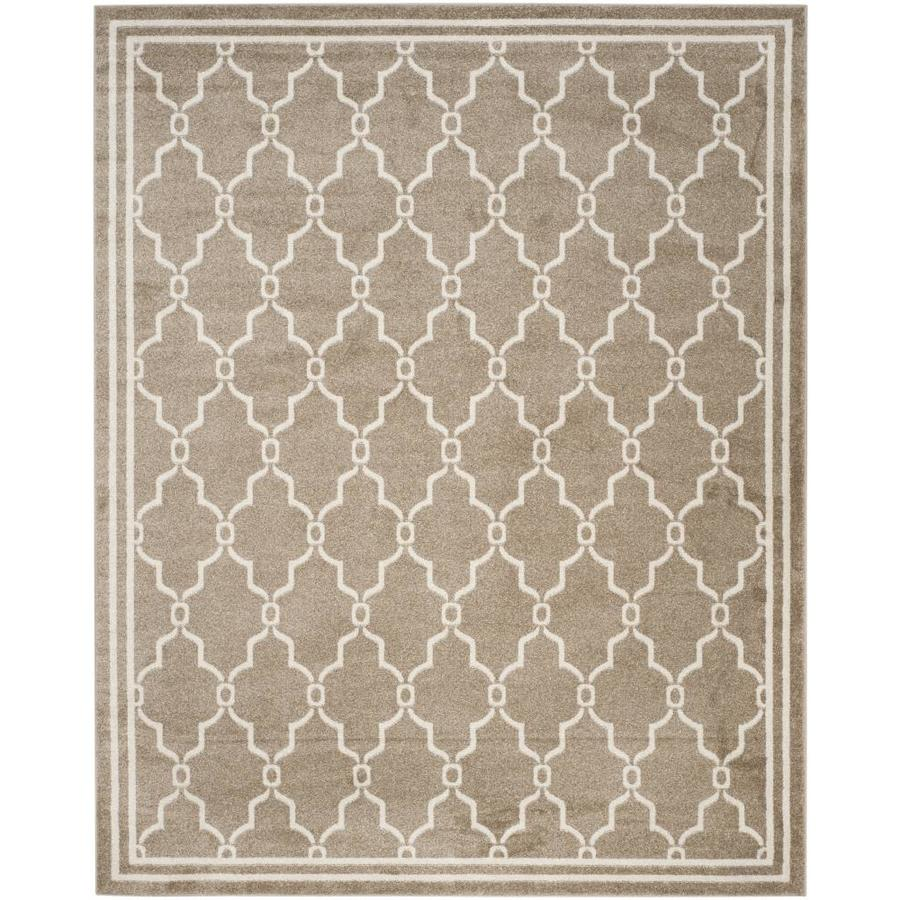 8x10 Indoor Outdoor Area Rugs: Safavieh Marion Wheat/Beige Indoor/Outdoor Area Rug