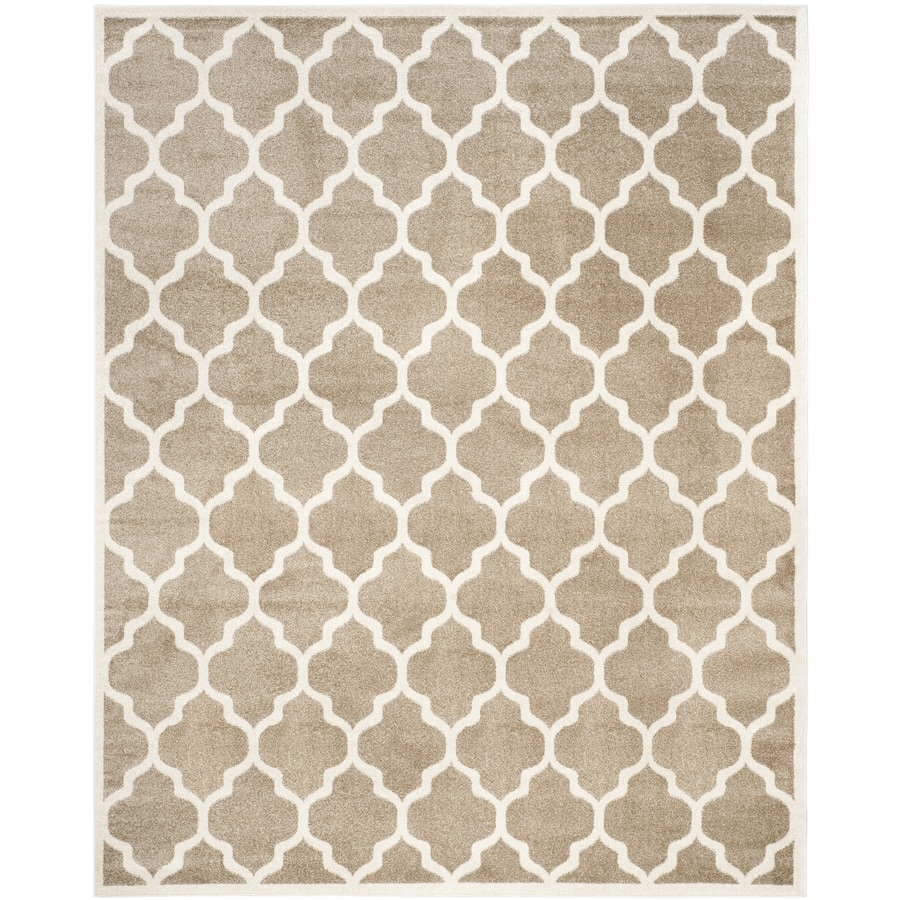 Safavieh Amherst Barret Rectangular Indoor/Outdoor Machine Made Moroccan  Throw Rug