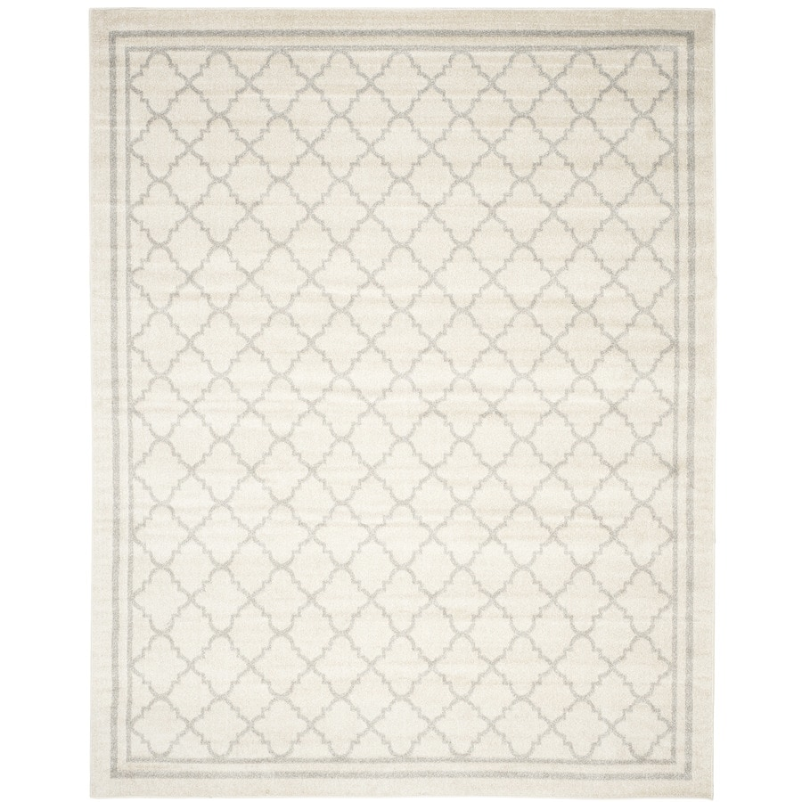 Safavieh Amherst Kelly Beige/Light Gray Indoor/Outdoor Moroccan Area Rug (Common: 10 x 14; Actual: 10-ft W x 14-ft L)