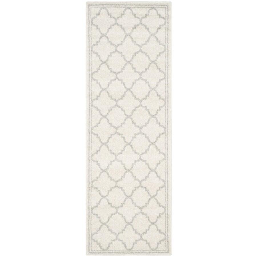Safavieh Amherst Kelly Beige/Light Gray Indoor/Outdoor Moroccan Throw Rug (Common: 2 x 4; Actual: 2.5-ft W x 4-ft L)