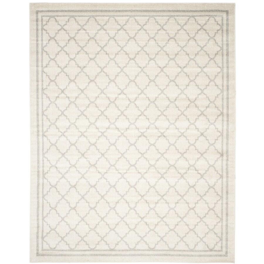 Safavieh Amherst Beige/Light Gray Rectangular Indoor/Outdoor Machine-Made Moroccan Area Rug (Common: 8 x 10; Actual: 8-ft W x 10-ft L)
