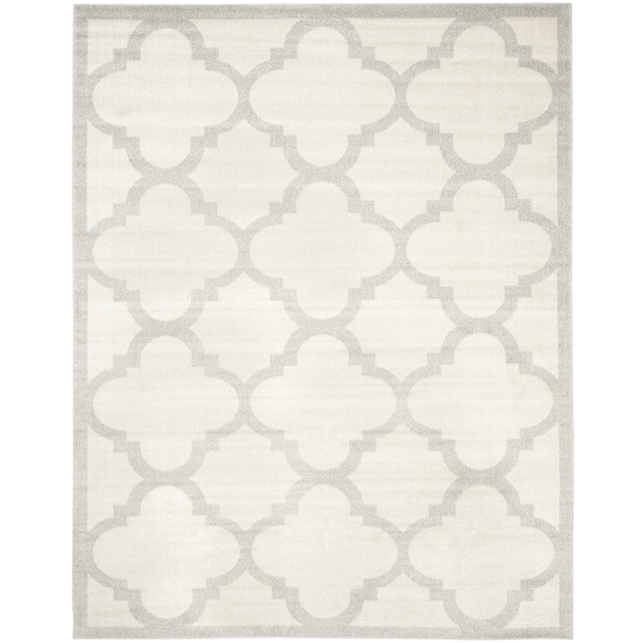 Safavieh Amherst Beige/Light Gray Rectangular Indoor/Outdoor Machine-Made Moroccan Area Rug (Common: 10 x 14; Actual: 10-ft W x 14-ft L)