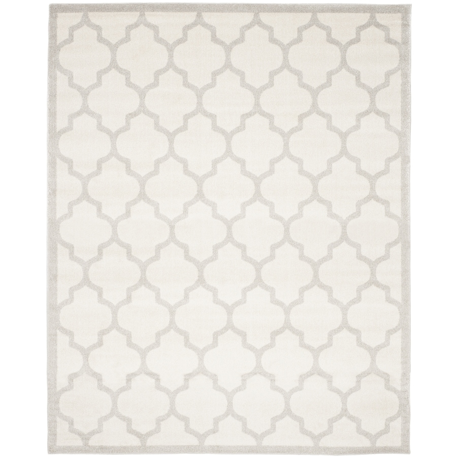 Safavieh Amherst Barret Beige/Light Gray Indoor/Outdoor Moroccan Area Rug (Common: 9 x 12; Actual: 9-ft W x 12-ft L)
