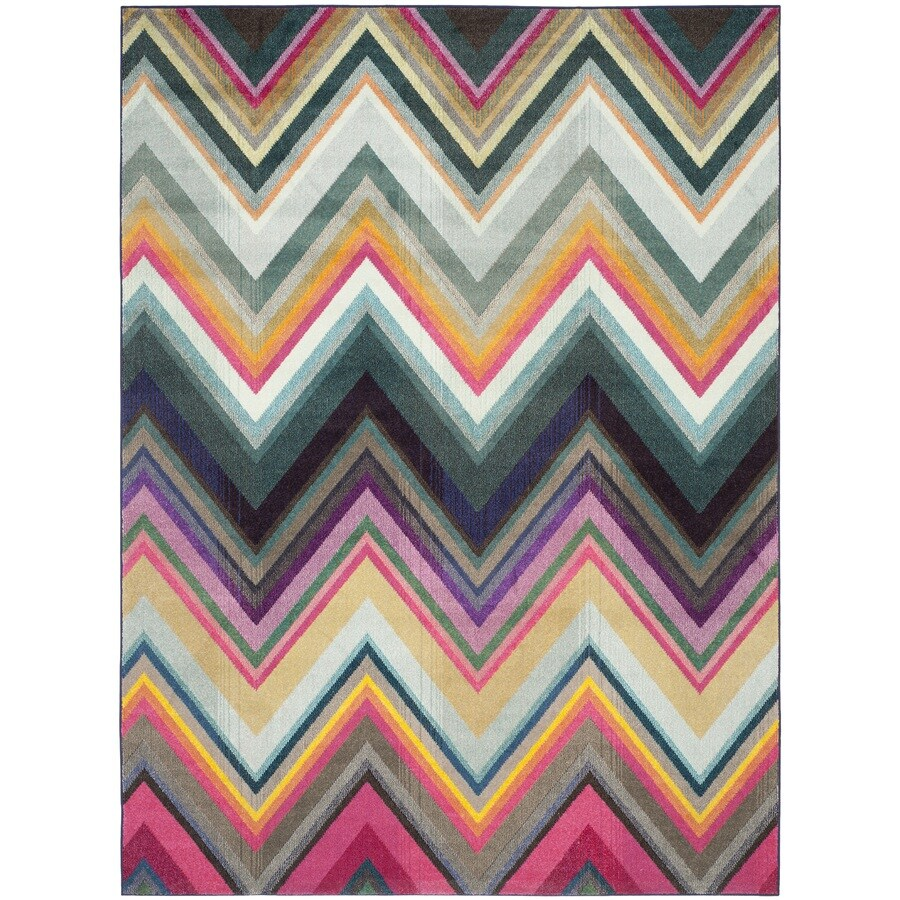 Safavieh Monaco Multi Rectangular Indoor Machine-Made Area Rug (Common: 8 x 11; Actual: 8-ft W x 11-ft L)