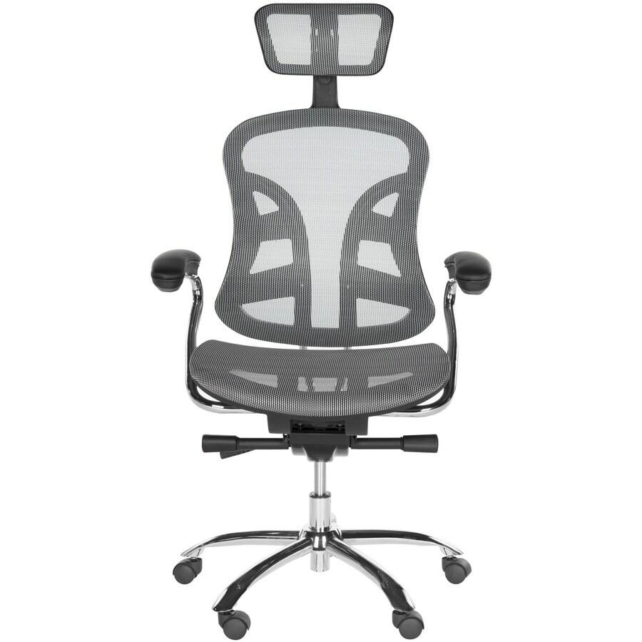 Safavieh Jarlan Gray Contemporary Desk Chair