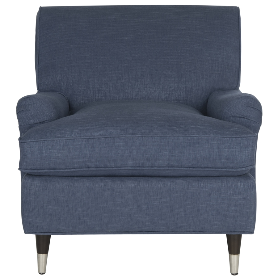 Safavieh chloe casual navy accent chair