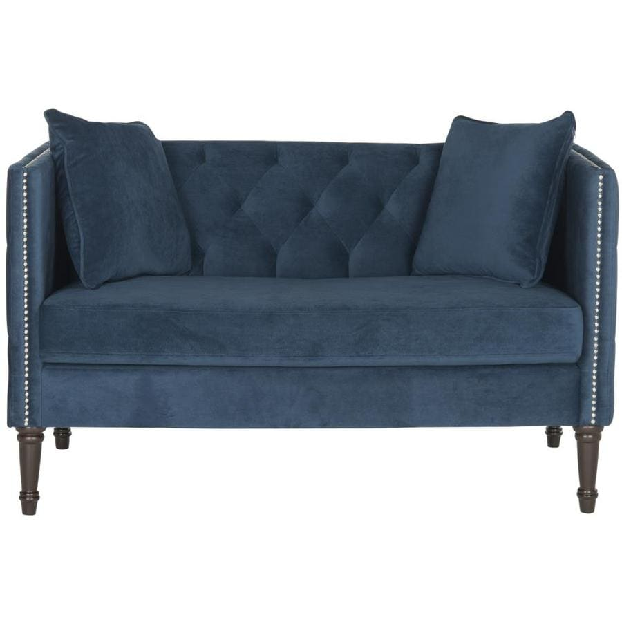 Safavieh Fox Blue Synthetic Loveseat