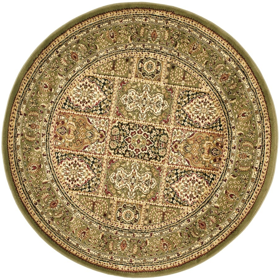 Green Area Rug Target: Safavieh Lyndhurst Bolero Multi/Green Round Indoor