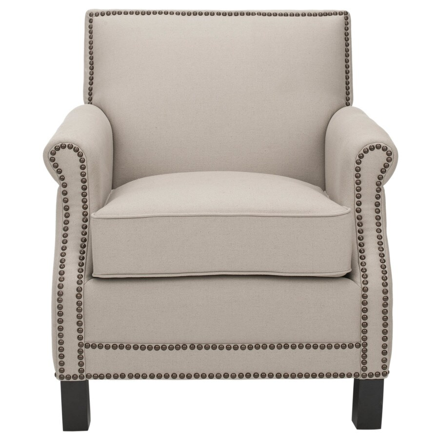 Safavieh Mercer Beige Accent Chair
