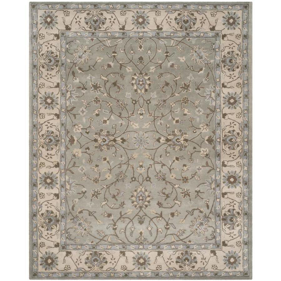 Safavieh Heritage Royal Beige/Gray Rectangular Indoor Handcrafted Oriental Area Rug (Common: 9 x 12; Actual: 9-ft W x 12-ft L)