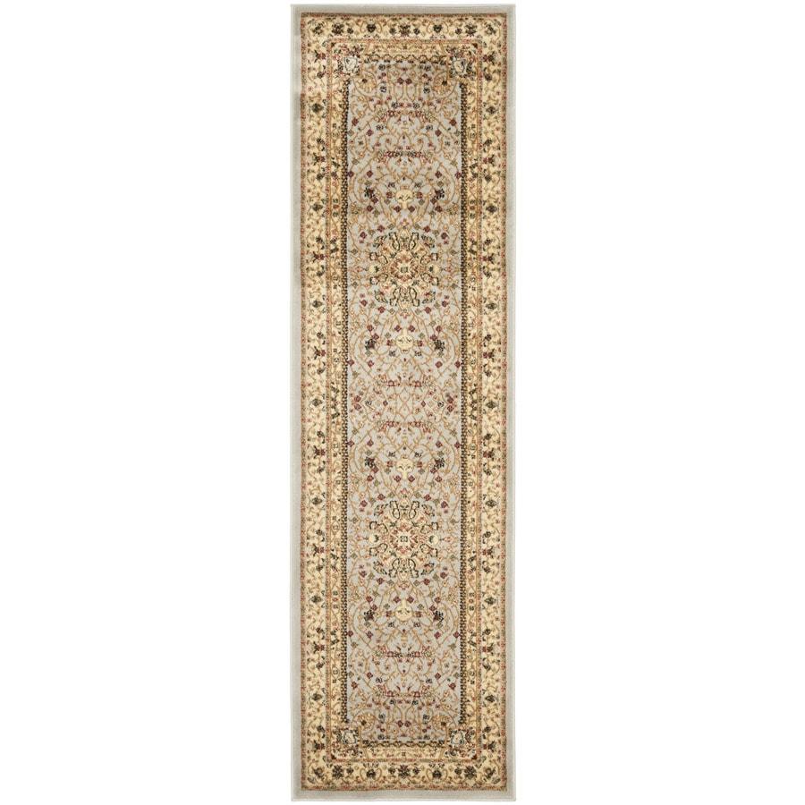 Safavieh Lyndhurst Tabriz Gray/Beige Indoor Oriental Runner (Common: 2 x 14; Actual: 2.25-ft W x 14-ft L)