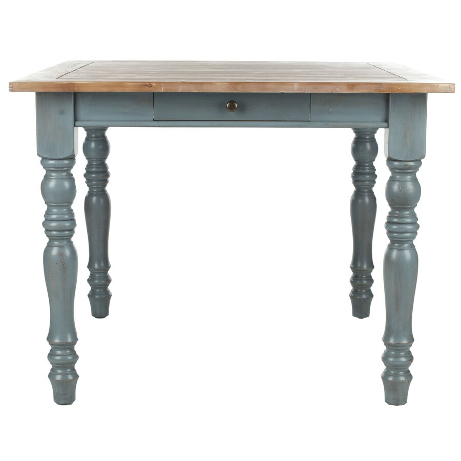 Safavieh American Home Blue Oak Square Dining Table
