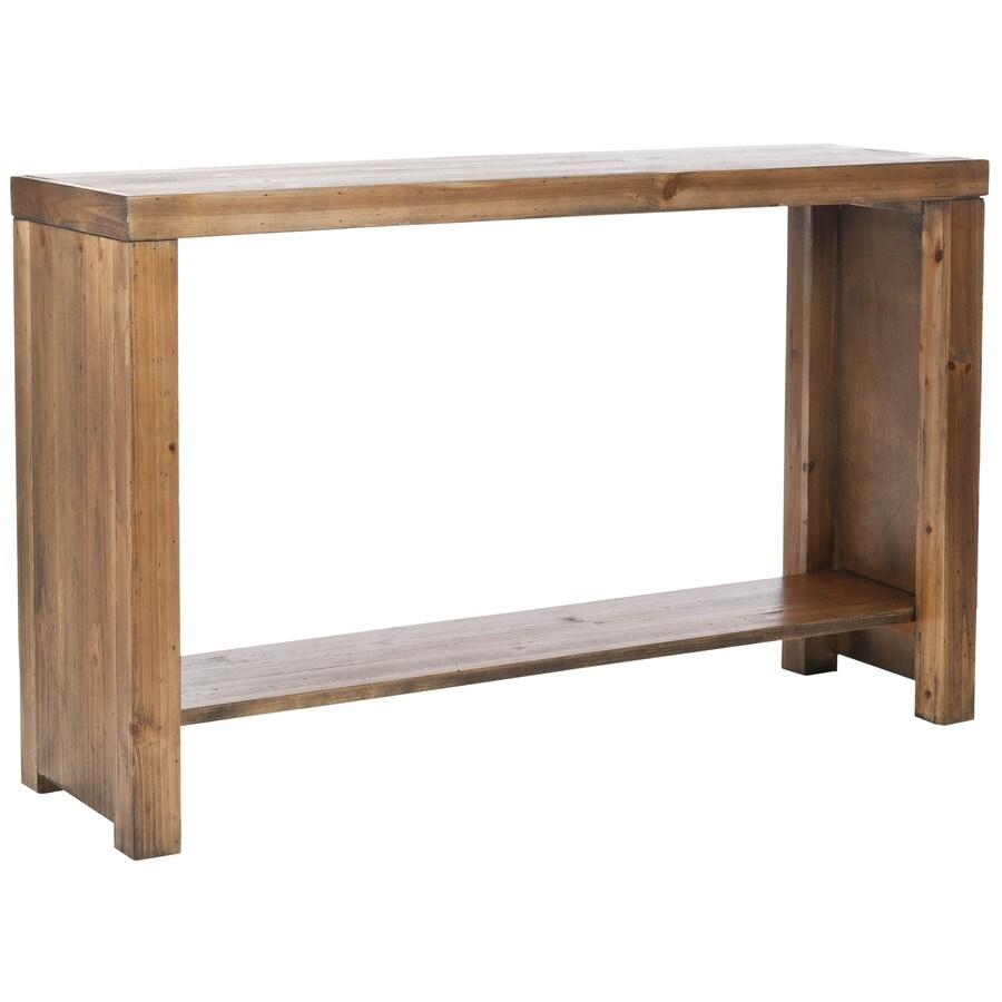 Safavieh American Home Medium Oak Fir Rectangular Console and Sofa Table