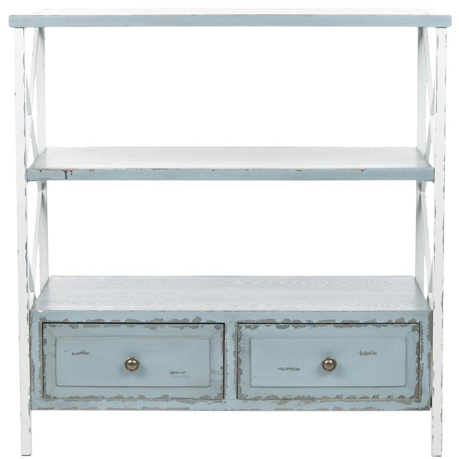 Safavieh Chandra Pale Blue/White Smoke Pine Console Table