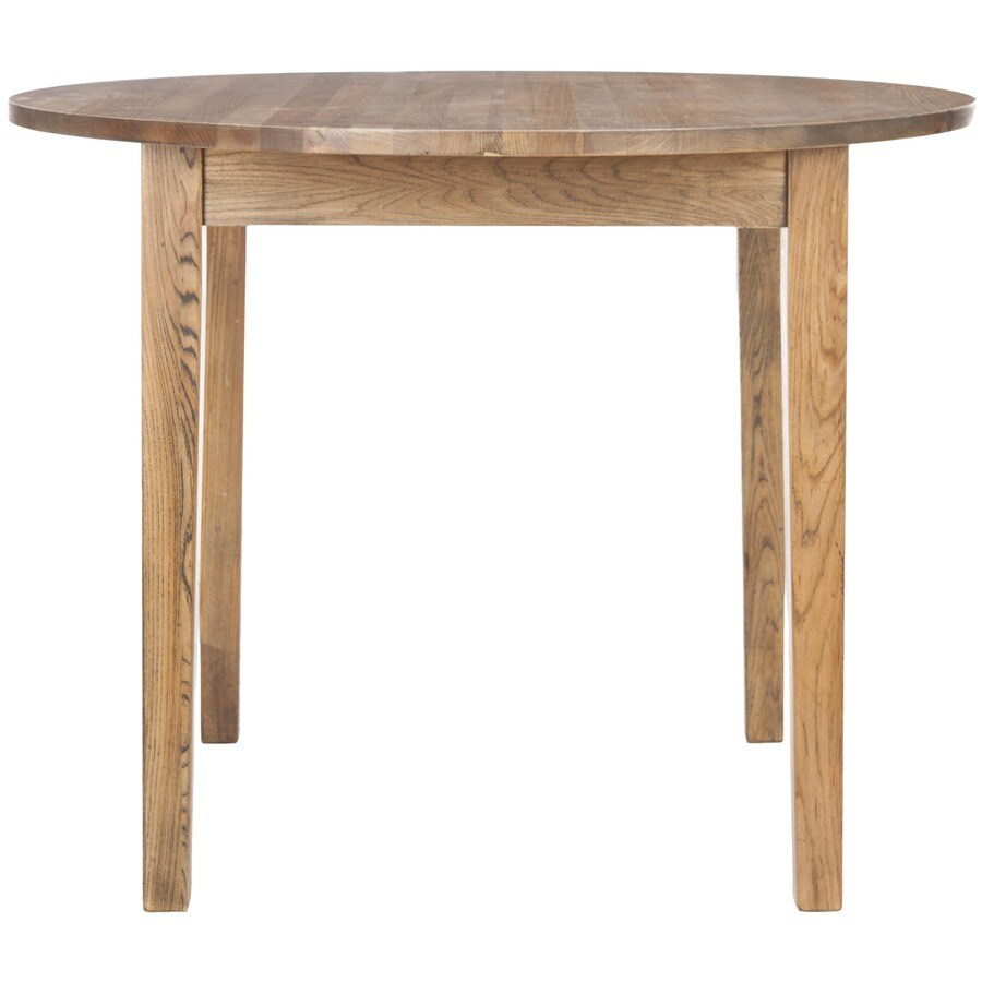 Safavieh American Home Light Brown Round Dining Table