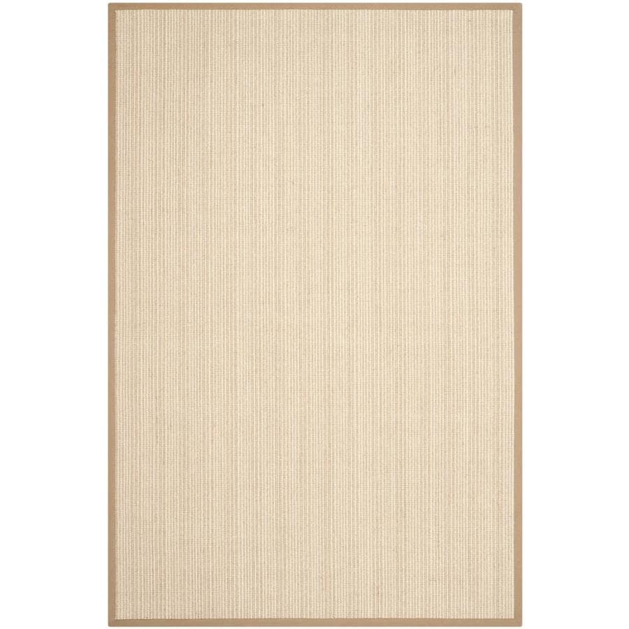 Safavieh Natural Fiber Groves Tan Indoor Coastal Area Rug (Common: 6 x 9; Actual: 6-ft W x 9-ft L)