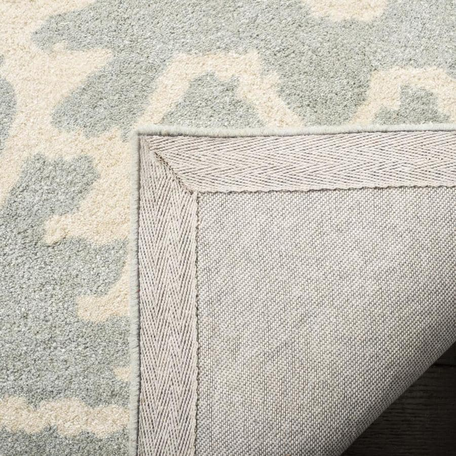 Safavieh Wyndham Ince 5 X 8 Gray Ivory Indoor Ikat Bohemian Eclectic Handcrafted Area Rug In The Rugs Department At Lowes Com