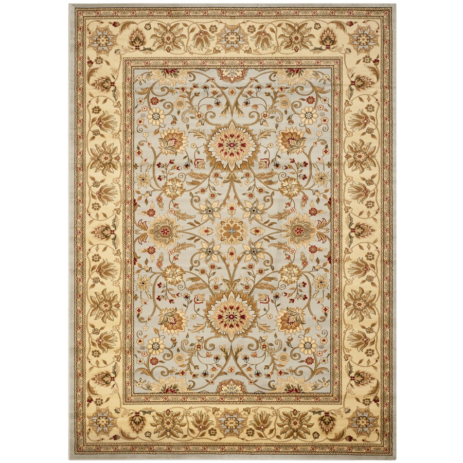 Safavieh Lyndhurst Grey/Beige Rectangular Indoor Machine-Made Area Rug (Common: 8 x 11; Actual: 8-ft W x 11-ft L)