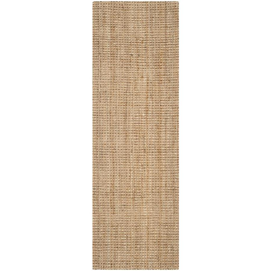 Safavieh Natural Fiber Antilles Natural Indoor Handcrafted Coastal Runner (Common: 2 x 9; Actual: 2.25-ft W x 9-ft L)