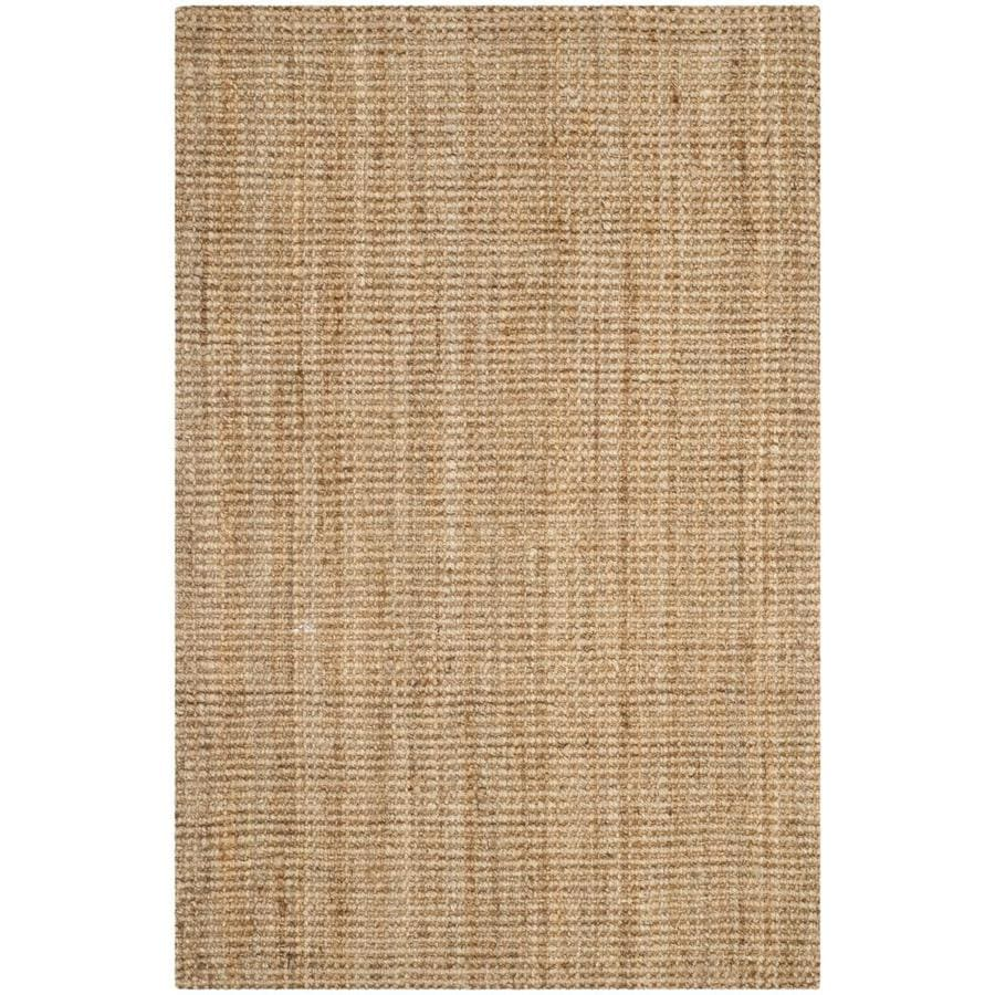 Safavieh Natural Fiber Antilles Natural Indoor Handcrafted Coastal Throw Rug (Common: 3 x 5; Actual: 3-ft W x 5-ft L)
