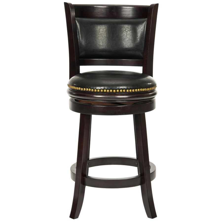 Safavieh Brockway Modern Brown/Black Counter Stool