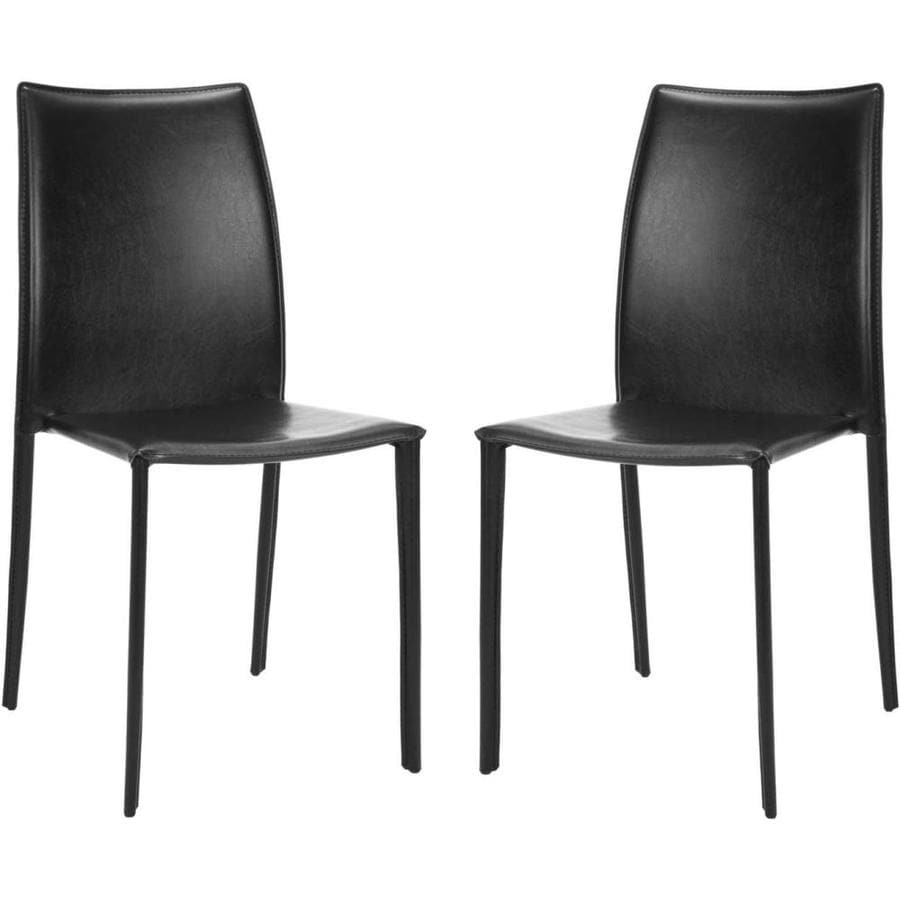 Safavieh Set of 2 Fox Home Black Gaming Accent Chairs