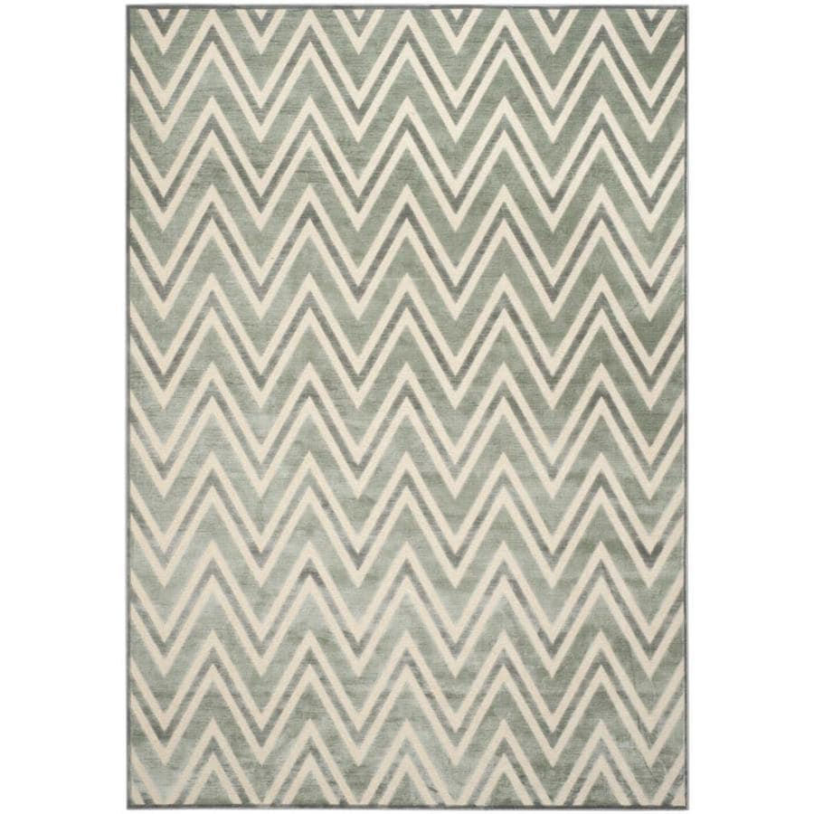 Safavieh Paradise Orion Gray Indoor Distressed Area Rug (Common: 8 x 11; Actual: 8-ft W x 11.2-ft L)