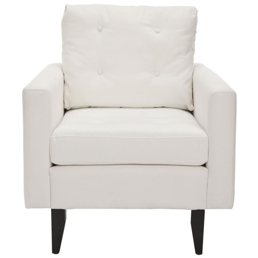 Safavieh Mercer White Accent Chair