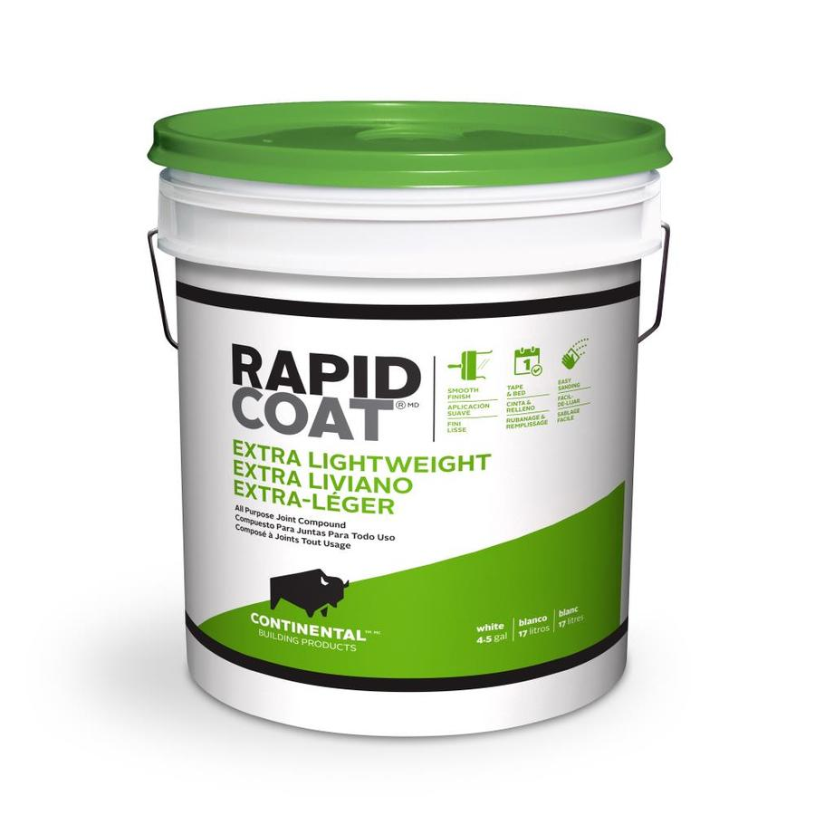 Shop rapid coat 4 5 gallon premixed extra lightweight for Bathroom joint compound