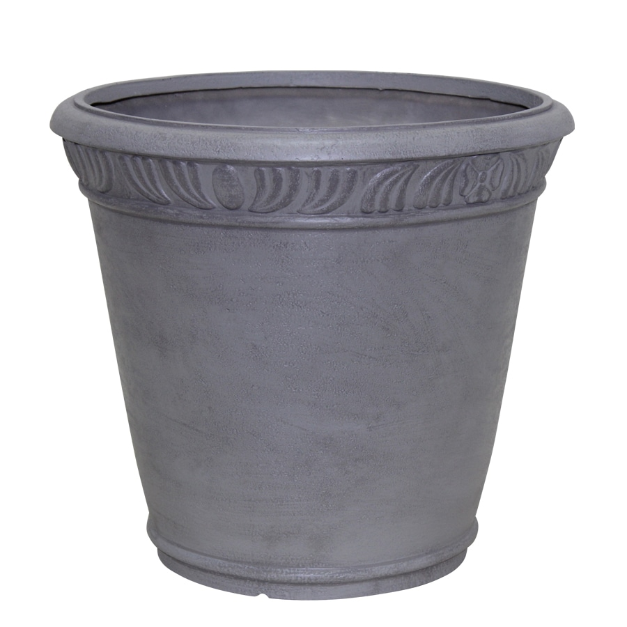 Garden Treasures 15-in x 13.25-in Planter