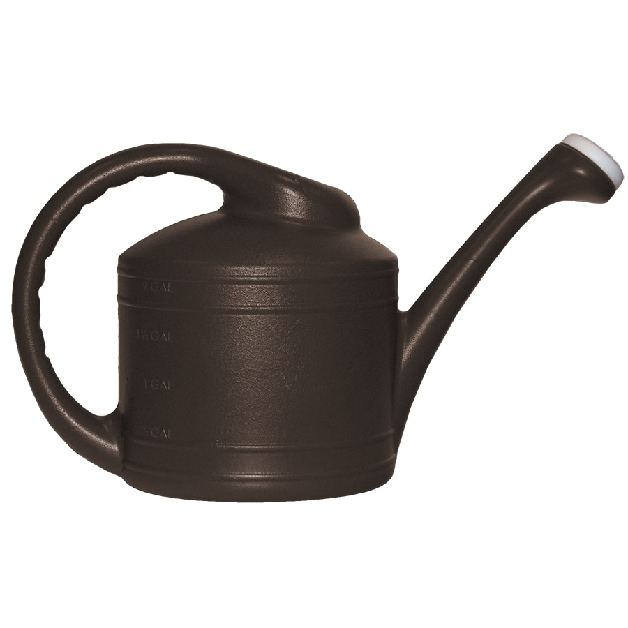 Garden Treasures 2-Gallon Brown Resin Watering Can