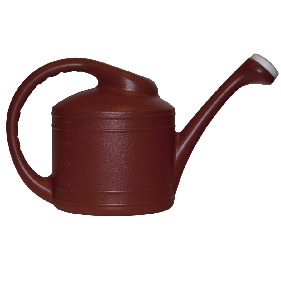 Garden Treasures 2-Gallon Red Resin Watering Can