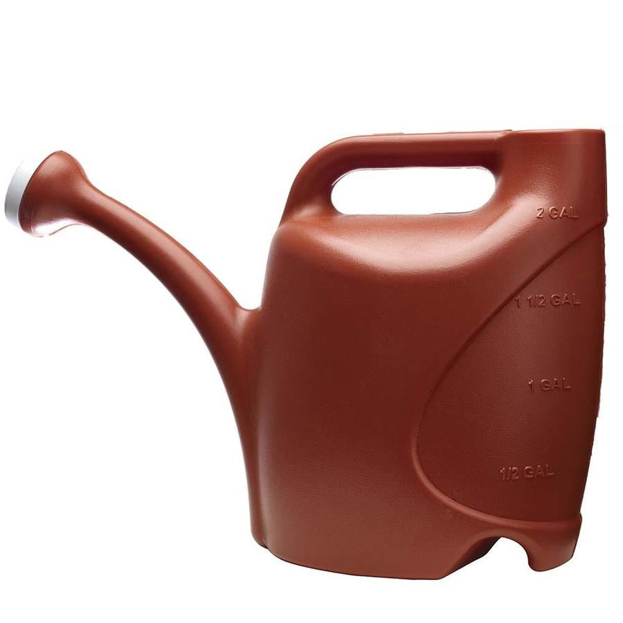 Allen Roth 2 Gallon Watering Can Red Plastic Clic