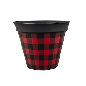 7.87-in W x 6.54-in H Plastic Planter