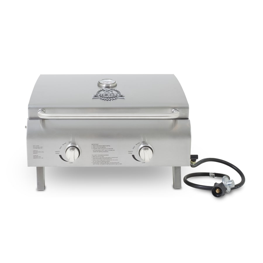 Pit Boss 20,000-BTU 275-sq in Portable Gas Grill