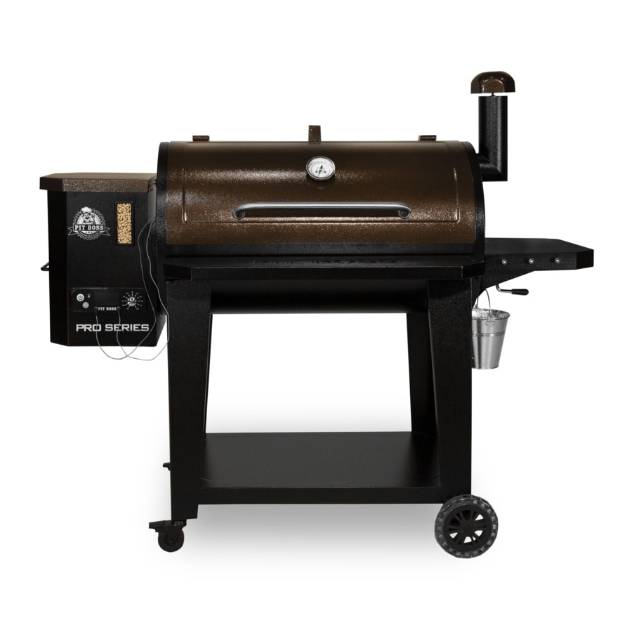 Pit Boss Pro Series 1100 Sq In Black Pellet Grill At