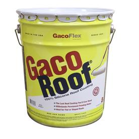 Gaco 5 Gallon Silicone Reflective Roof Coating (50 Year Limited Warranty)