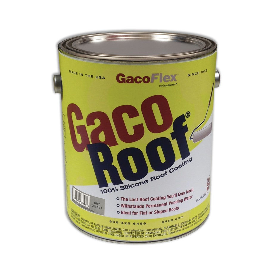 Shop Gaco 1 Gallon Silicone Reflective Roof Coating 50