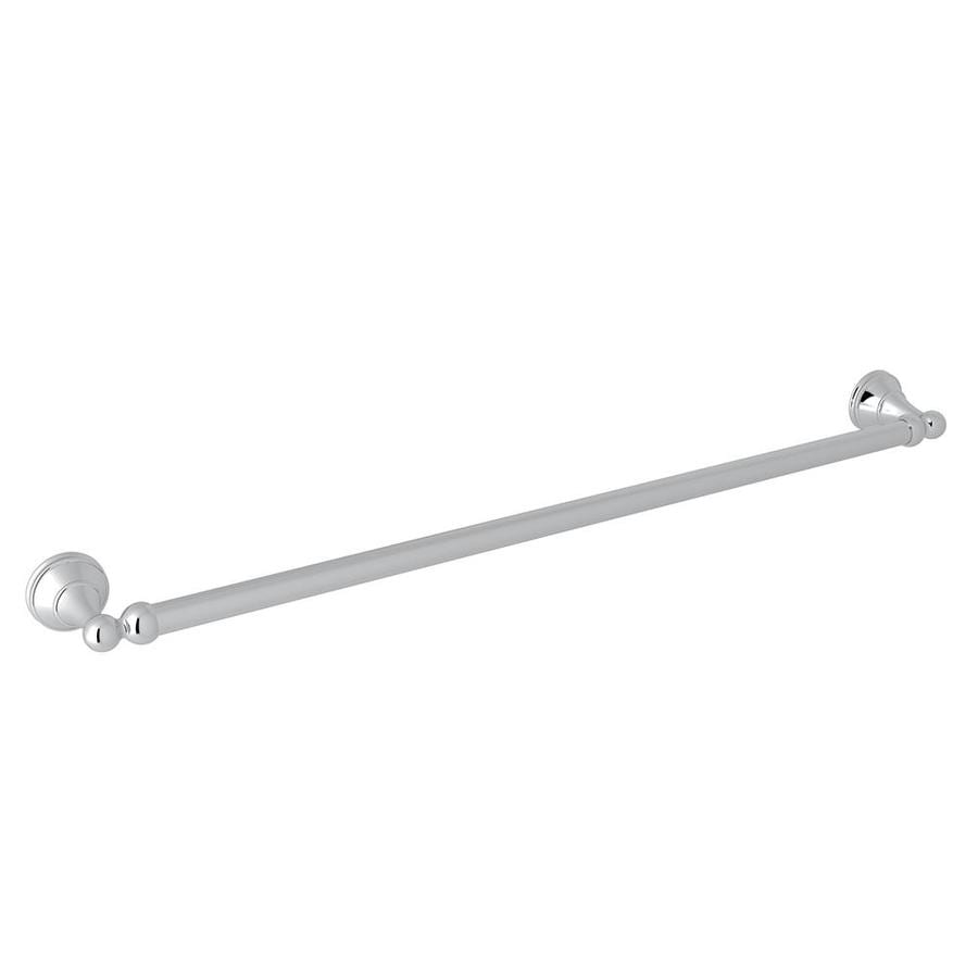 Rohl Perrin And Rowe 24 In Polished Chrome Towel Bar