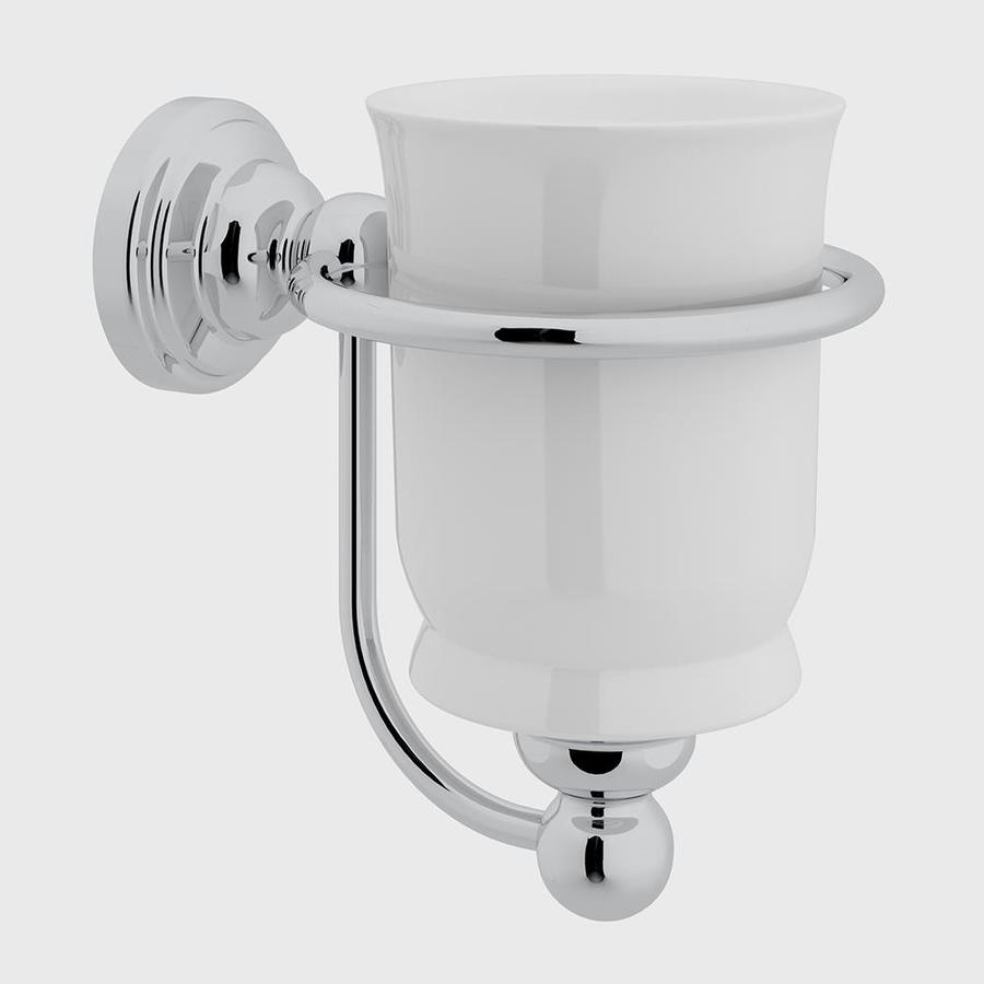 Shop Rohl Perrin and Rowe Polished Chrome Porcelain Tumbler at Lowes.com