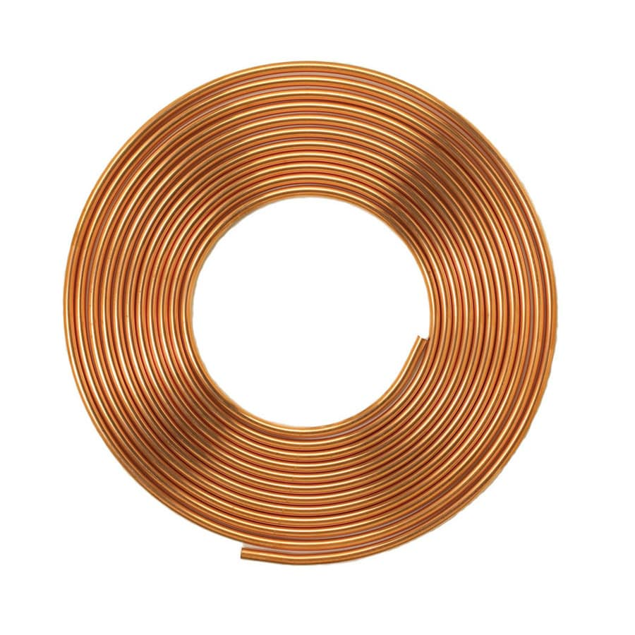Mueller Streamline 1/2-in dia x 60-ft L Coil Copper Pipe