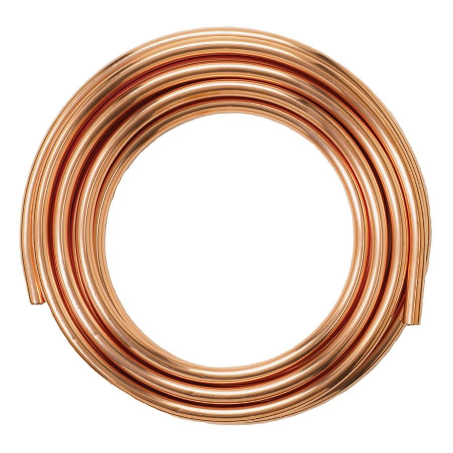 Mueller Streamline 3/4-in Dia x 100-ft L Coil Copper Pipe