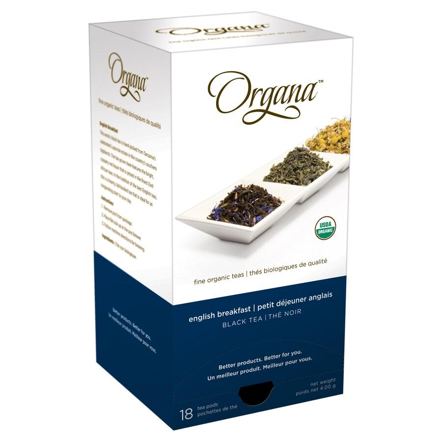 Organa 18-Pack Organa English Breakfast Single-Serve Tea