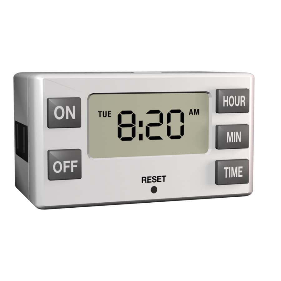 Utilitech Indoor Digital Bar Lighting Timer