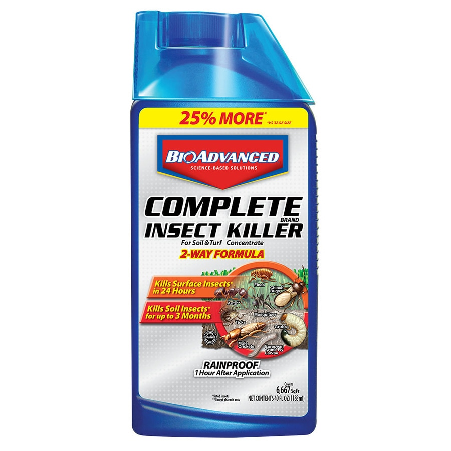 BAYER ADVANCED Complete 40-fl oz Concentrate Insect Killer at Lowes com