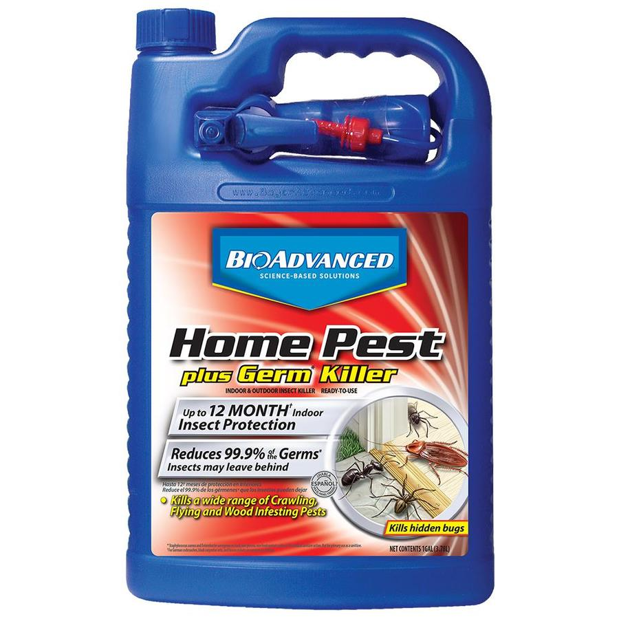 BAYER ADVANCED Home Pest Plus Germ Killer 1-Gallon Insect Killer
