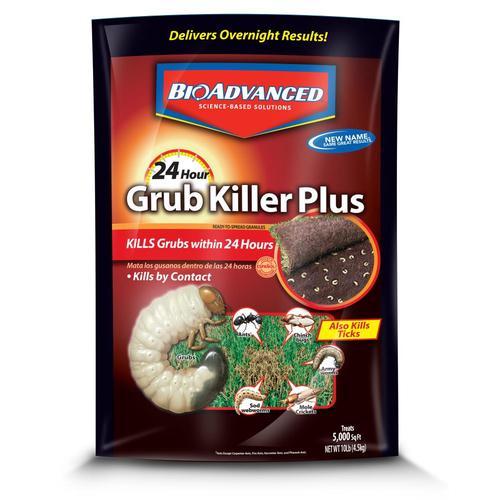 Bayer Advanced 24 Hour Grub Killer Plus 10 Lb Insect Killer At