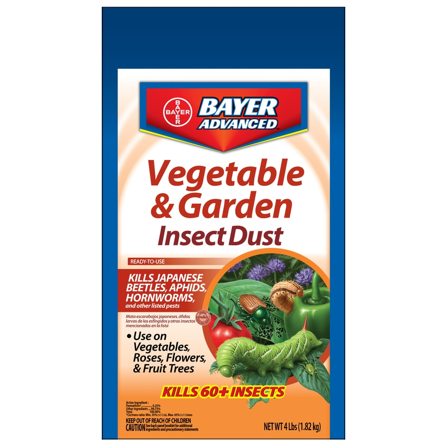 BAYER ADVANCED Vegetable and Garden Insect Dust 4-lb Garden Insect Killer
