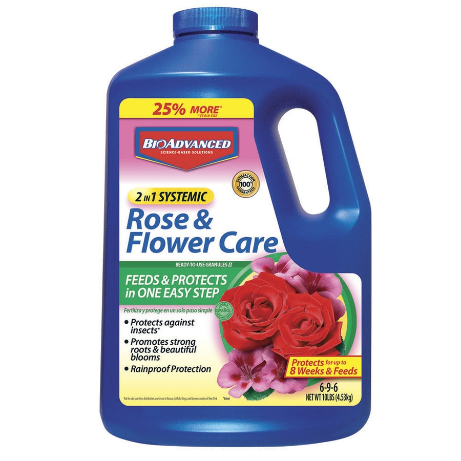 BAYER ADVANCED 10-lb 2 in 1 Rose and Flower Care Granules (6-9-6)