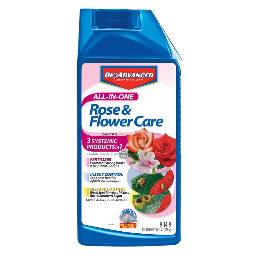BAYER ADVANCED 32 fl oz Flower and Vegetable Food (9-14-9)